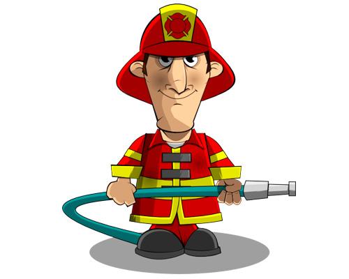 Пожарный по-английски a fireman