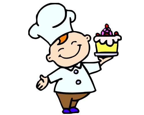Хлеб и пирожные можно купить в булочной - at thebaker's