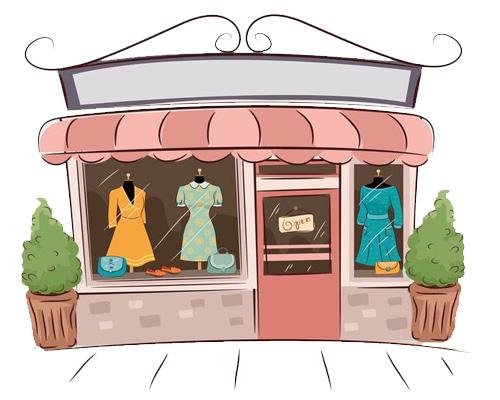 Магазин модной одежды - boutique