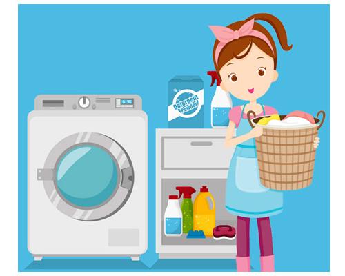 Прачечная самообслуживания по-английски launderette
