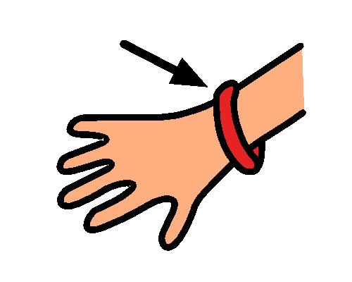 Запястье по-английски - wrist [rɪst]