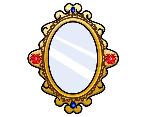 Зеркало по-английски - mirror [ˈmɪrə]