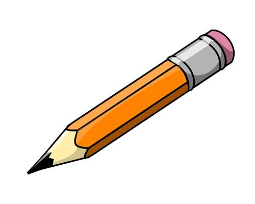 Карандаш по-английски - pencil [pensl]