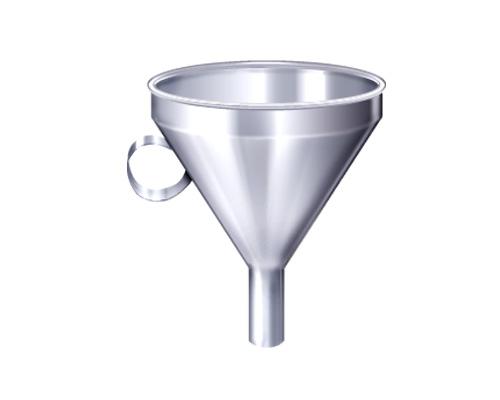 Воронка по-английски - funnel [fʌnl]