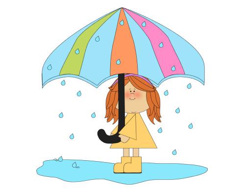 Идет дождь - It's raining