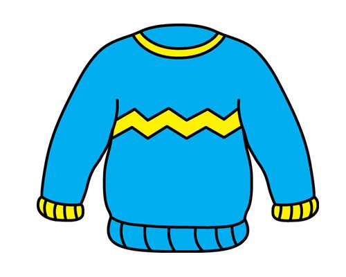Свитер по-английски - sweater [ˈswetə]