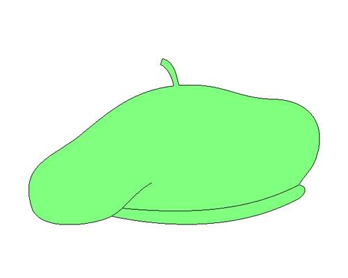 Берет по-английски - beret [ˈbereɪ]