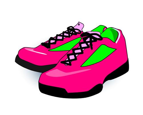 Кроссовки по-английски - sneakers [ˈsniːkəz]
