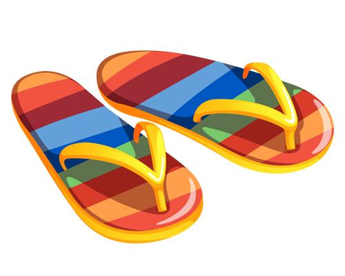По-английски шлепанцы -flip flops