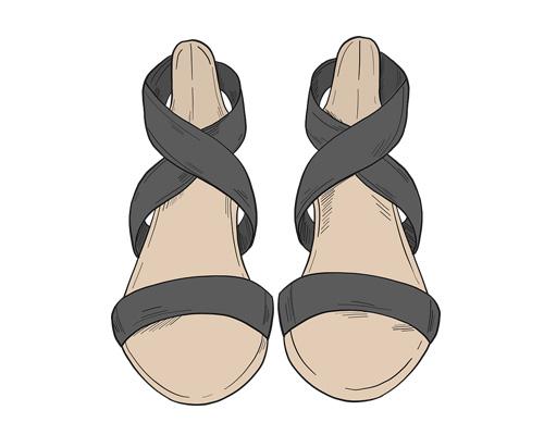 Сандалии по-английски - sandals [sændlz]