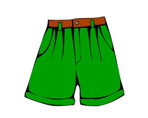 Шорты по-английски - shorts [ʃɔːts]