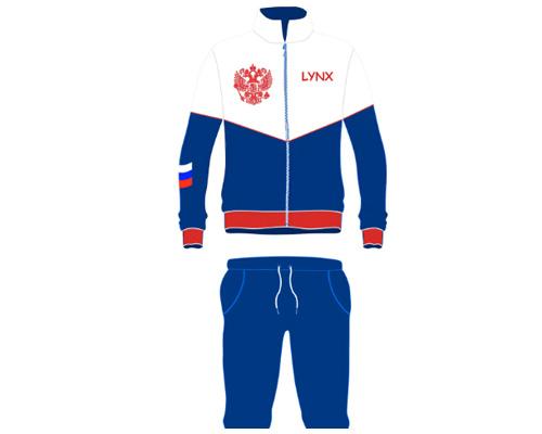 Спортивный костюм по-английски - tracksuit [ˈtræks(j)uːt]