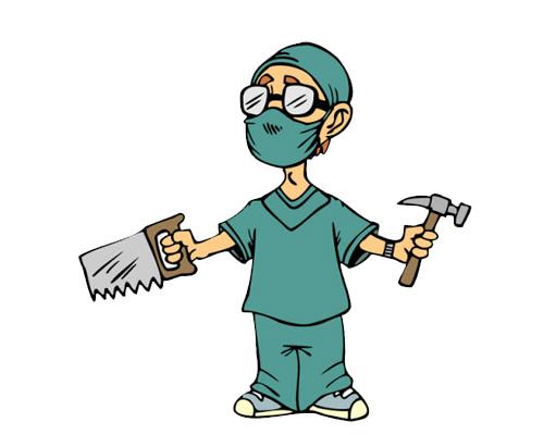 A surgeon [ˈsɜːʤən] - хирург по-английски