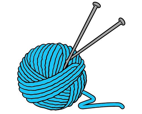 Клубок ниток по-английски - a ball of string