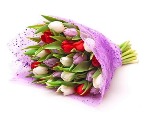 Букет цветов по-английски - a bouquet of flowers