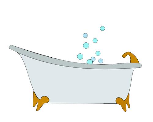 Ванна по-английский - bath [bɑːθ]
