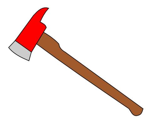 Топор по-английски - axe [æks]