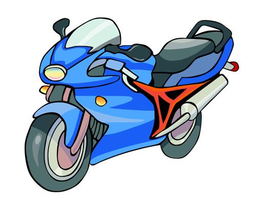 Мотоцикл по-английски - motorbike [ˈməʊtəbaɪk]