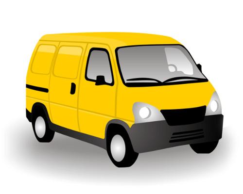 Автофургон, микроавтобус по-английски - van [væn]
